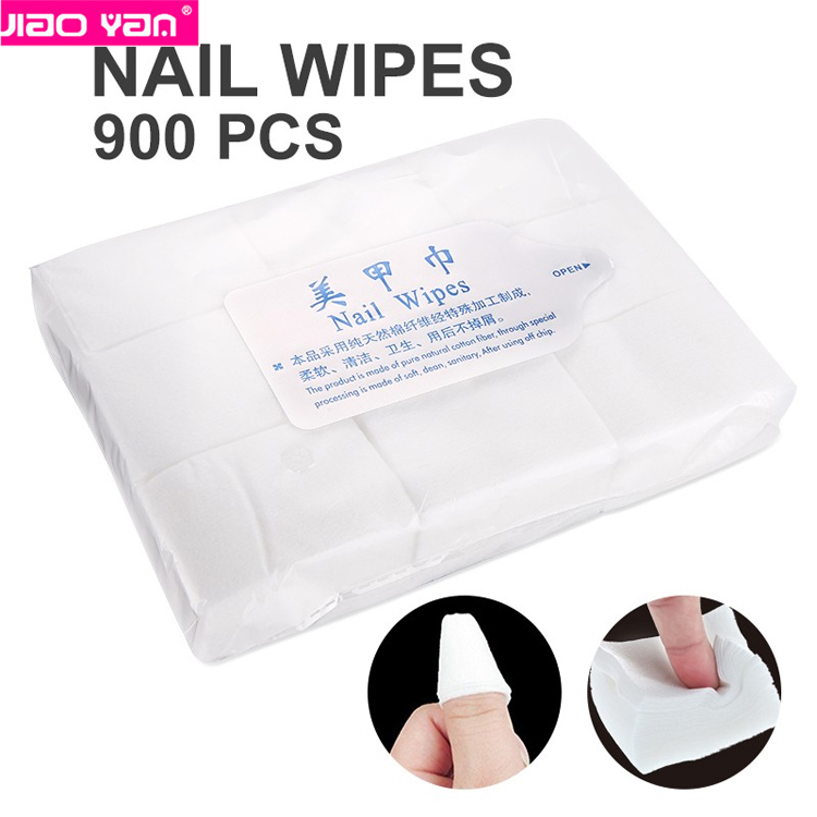 free shipping Professional Nail Art Cotton Wipes nail Polish <strong>Remover</strong> Cotton #3502