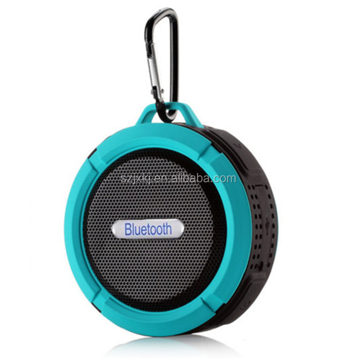 C6 waterproof Bluetooth speakers, outdoor sports sucker mini small speakers, mobile car subwoofer small speakers