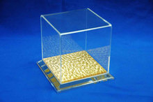 clear large acrylic display cube boxes