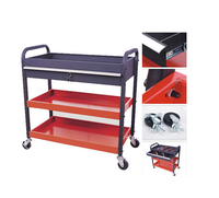Cost-efficient trailer truck metal tool box