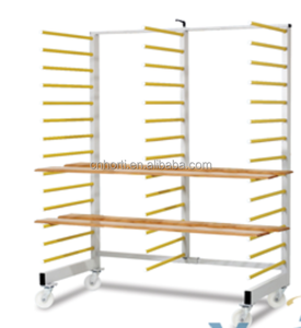 drying rack trolley for painted wooden panels