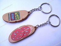 promotional 3D rubber key chain