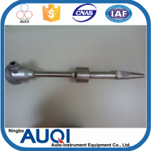 Ningbo Auqi duplex thermocouple, wear resistance power plant use thermocouple, dia shrink thermowell thermocouple