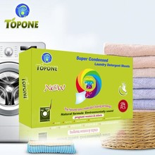 TOPONE Laundry Detergent Sheet With the Newest Natural Formula
