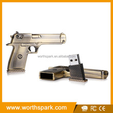 bulk gun shape usb flash drive with factory price