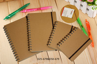 all types school a4 a5 all sizes paper cover spiral note book