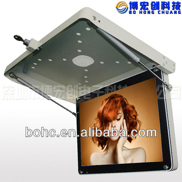 21.5 bus lcd advertising player monitor tv