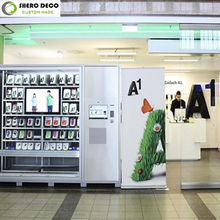 Best price High end shopping mall kiosk for cell phone showcase display