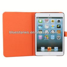 Cheap custom mobile phone cases for ipad mini 2 pu leather case book type leather case