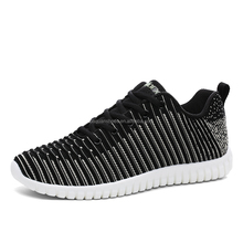 Popular design Fashion Men Shoes Comfortable Walking Casual Shoes Men Breathable Running Shoes