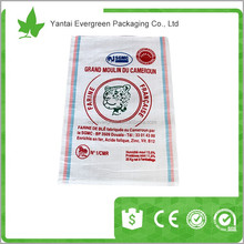 white woven polypropylene poultry feed bag pp bags 25kg 50kg
