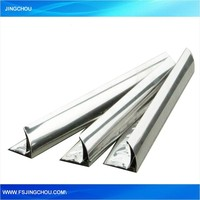 Multifunctional anodized stainless steel tile trim with great price