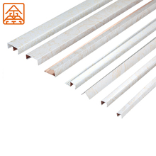 China manufacture u channel L shape aluminum tile trim, aluminum laminate transition corner trim