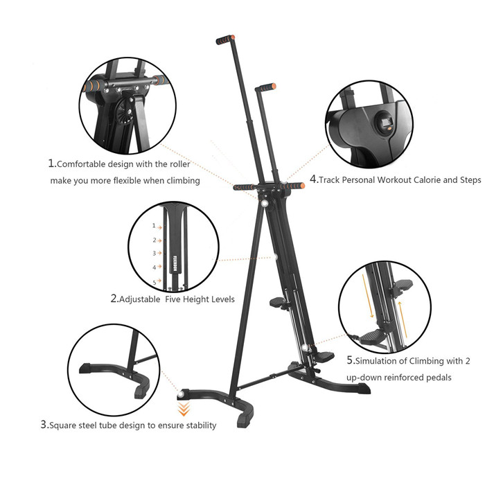 2017 New style mountain climbing machine for gym fitness