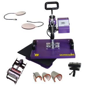 8 in 1 combo multi functions heat press machine