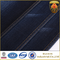 Factory sale trendy style 2016 china cotton modal denim fabric