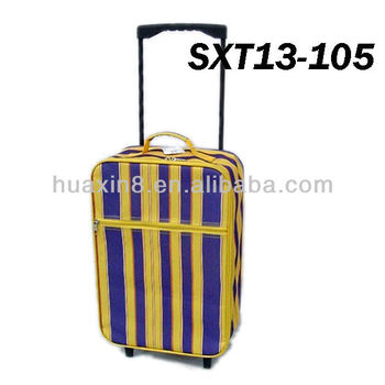 SXT13-105 Promotional Shopping Foldable Trolley Luggage