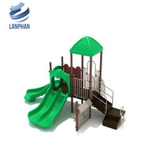 Plastic Slide Small Playground Kids Outdoor Playground