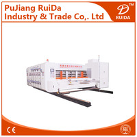 [RD-A1500-2600-3] Automatic flexo printing slotting die cutting carton box making machine prices