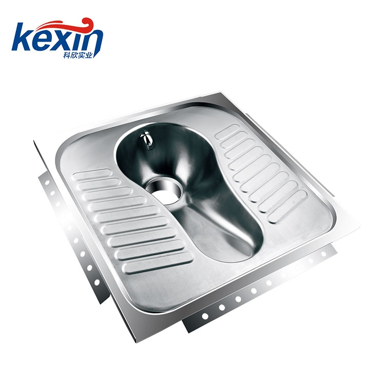 Hot Selling Good Quality Toilet Stainless Steel Squat Pan