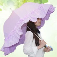 fashion wedding pongee rain umbrella