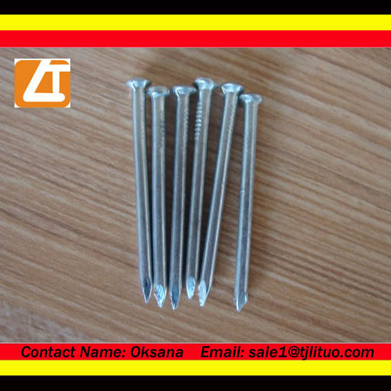 Concrete steel nails concrete steel nail smooth or flume shank