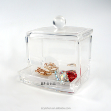 Special Design Cute Small Clear Acrylic Storage Box with lid