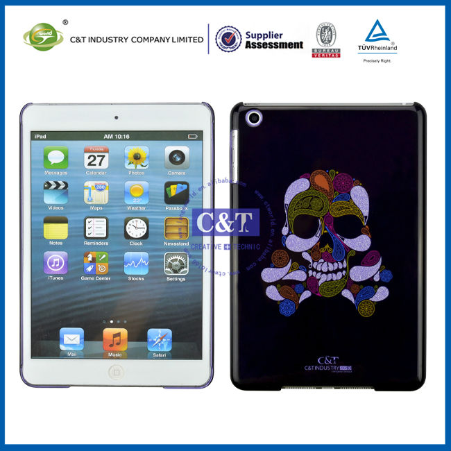 C&T PC Skull case for ipad mini