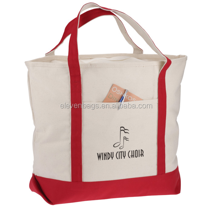 high quality insulated grocery cotton cloth carry bag