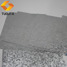 China factory supplier high quality cold rolled galvanized steel sheet weight zinc roof sheet price in malaysia
