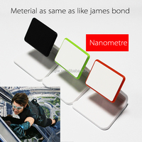 folding mobile phone holder with nanomatetial surface micro suction