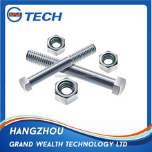 M12 grade 8.8 galvanized coating hex bolt and nut