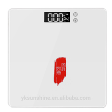High Density personal digital portable bathroom scale with temperature function
