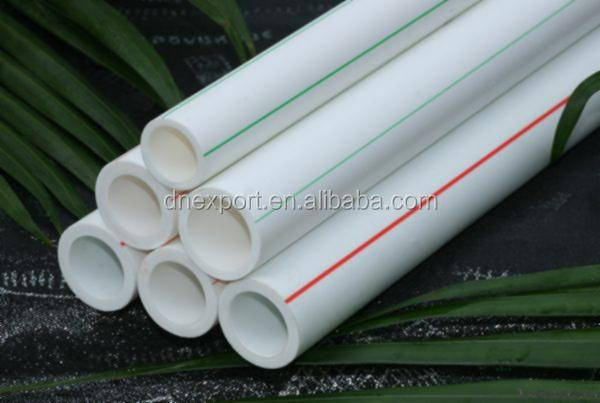 DIN plastic pipes fitting for hot and cold water PPR material