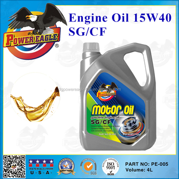PE Car Heavy-Duty Engine Oil 15W40