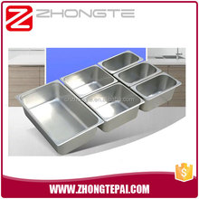 "kitchen equipment 1/2-4"" Deep stainless steel table/steam table food pan/service tray"