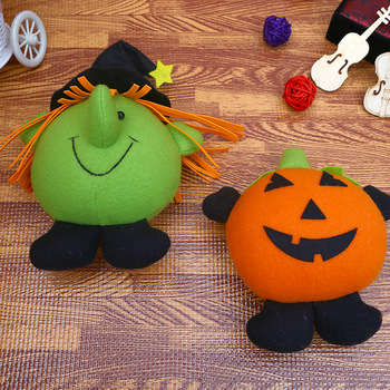 Direct Factory Bulk Wholesale Cheap Lovely Custom Funny Party Home Decoration Halloween Plush Toys