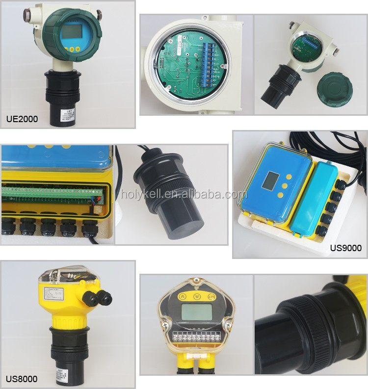 Low cost ultrasonic water tank level monitor with LED display UE3008