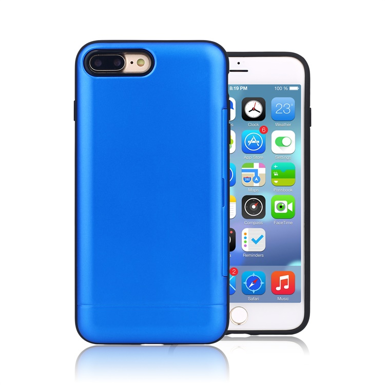 2017 New design TPU+PC shockproof protective phone case for iphone 7 plus