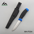 Fishing knife with plastic sheath