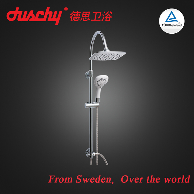 China suppliers stainless steel square waterfall shower set