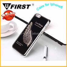 2014 version love wings mobile phone cover case for Iphone 6,luxury mobile phone cases