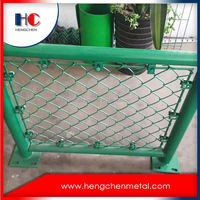 6ft galvanized chain link fence