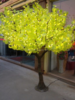 amazing artificial LED tree indoor & outdoor artificial plant with roots