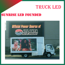 outdoor led advertising billboards outdoor moving truck screen