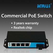 Black box fiber optical 1310nm 20Km manufacturer poe switch with metal casing