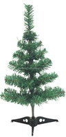 50T 60cm PVC Christmas tree, little Xmas tree, mini table Chrsitmas tree