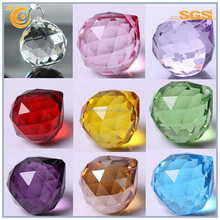 seven colored lighting parts crystal glass lighting ball