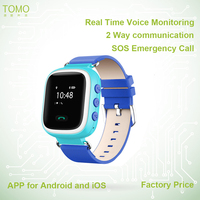 Real Time Tracking APP for Android and IOS Wrist GPS Kids Watch Mobile For Kids