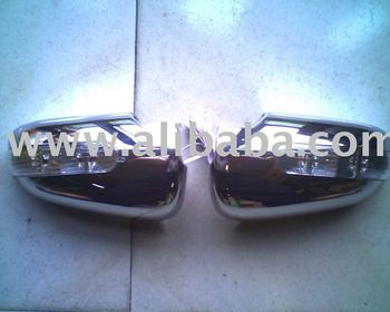 Chrome door handle covers mirror covers fog light covers